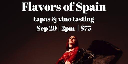 Spanish Wine & Tapas Tasting