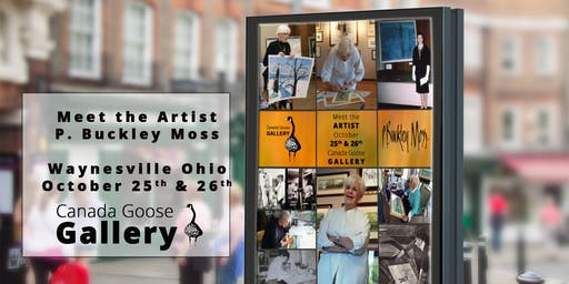 Meet The Artist P. Buckley Moss & Enjoy Her Art!