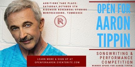 Open For Aaron Tippin tickets