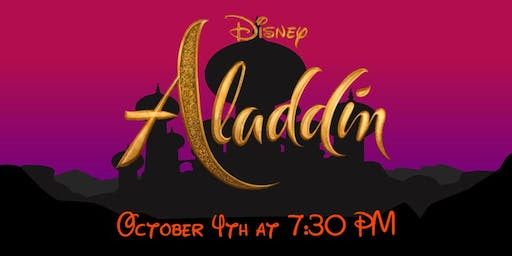 Aladdin Screening • FREE Event