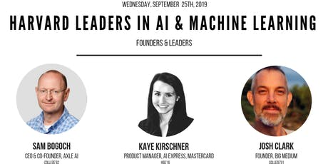 Harvard Leaders in AI & Machine Learning tickets