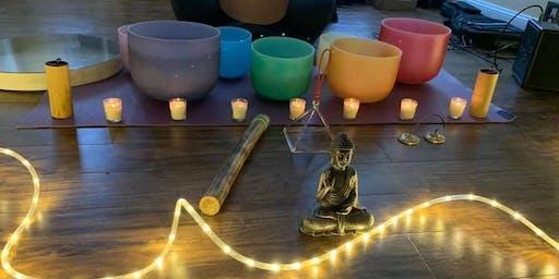 Sound Healing Crystal Bowls Massage Reiki