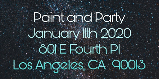 Paint Popup and Party!