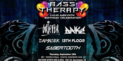 Bass Therapy w/ Griefer, Brikz & More!