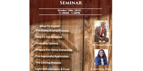 FREE First Time Home Buyers Seminar tickets