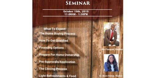 FREE First Time Home Buyers Seminar