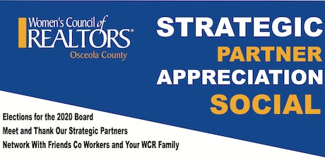 Strategic Partner Appreciation Social tickets