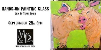 """Immersive Painting Class: """"Critters"""" (Ages 12+)"""