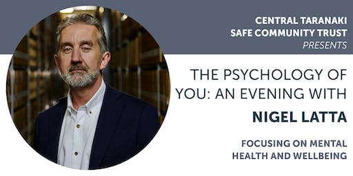 The Psychology of You: An evening with Nigel Latta - Stratford