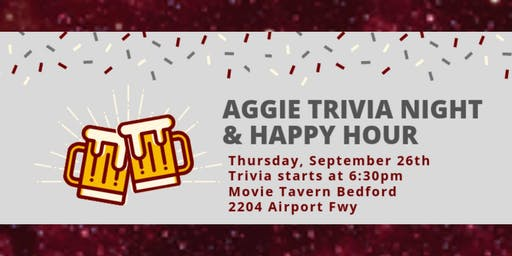 Aggie Trivia Night & Happy Hour