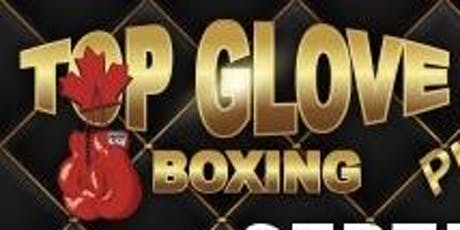 Top Glove Boxing  tickets