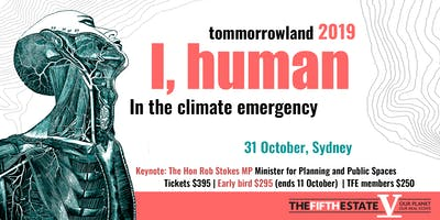 Tomorrowland 2019: I, human in the climate emergency