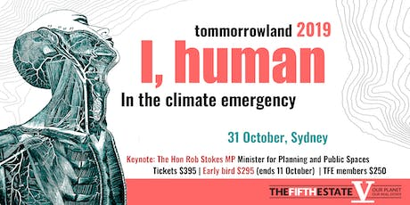 Tomorrowland 2019: I, human in the climate emergency  tickets