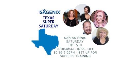 San Antonio TEXAS Ideal Life + Super Saturday