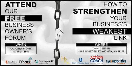 Strengthen Your Business's Weakest Link! tickets