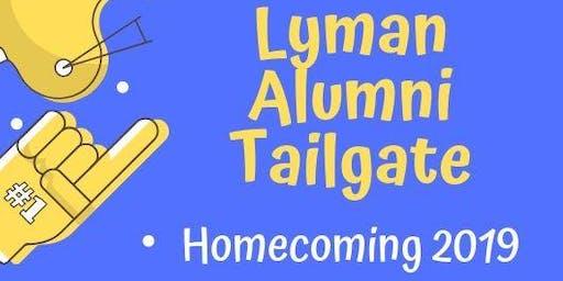 Lyman Homecoming 2019 Alumni Tailgate