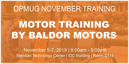 Motor Training by Baldor Motors