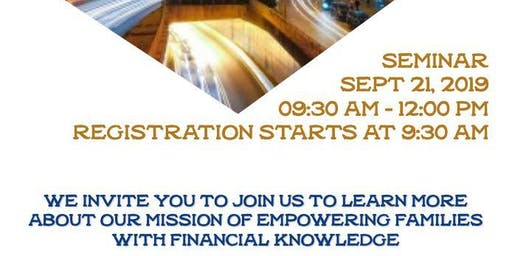 Financial Independence Workshop