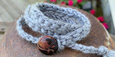 Crochet Wrap Bracelet Workshop tickets