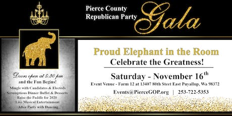Proud Elephant in the Room  Gala tickets