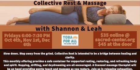 Collective Rest & Massage tickets