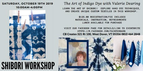 SHIBORI WORKSHOP tickets