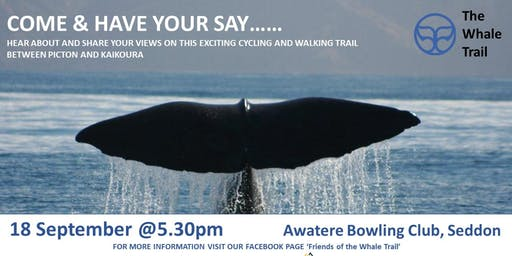 The Whale Trail - Community Engagement Session