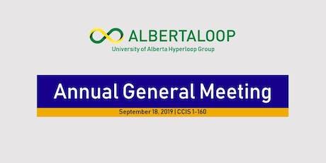 Albertaloop Annual General Meeting tickets