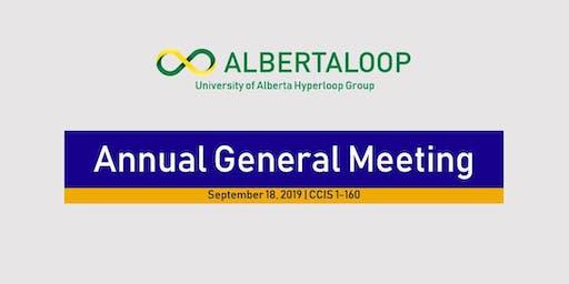 Albertaloop Annual General Meeting
