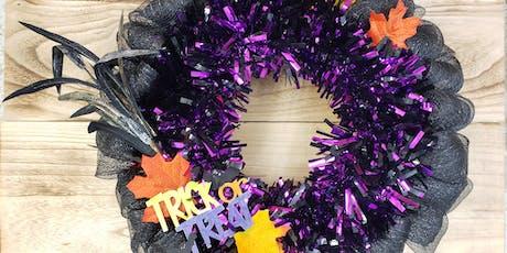 Halloween Wreath tickets