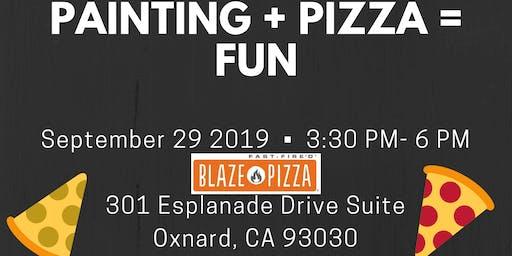 Kiss My Palette: Paint N Pizza Party