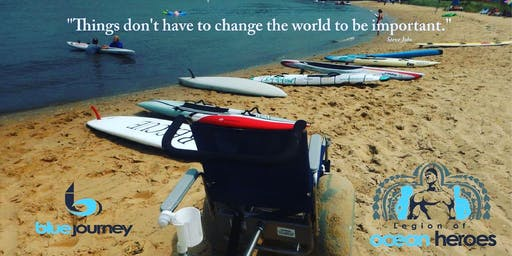 CANCELLED - Join Us -Fall Beach Time - Blue Journey Unified Paddle Session - Sun, Sept 15, 5:00 - 6:30