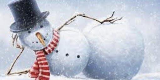 Snowman Hat Candle