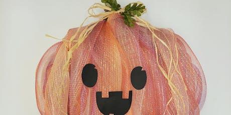 Pumpkin Wreath Workshop tickets