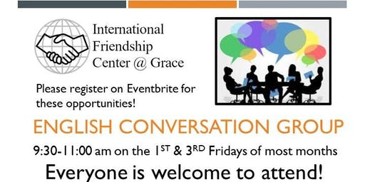 English Conversation Group: Topic - Explore the Visitor's Center