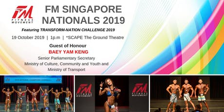 FM Singapore Nationals 2019 tickets