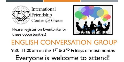 English Conversation Group: Topic - What Is Your Family Tree?