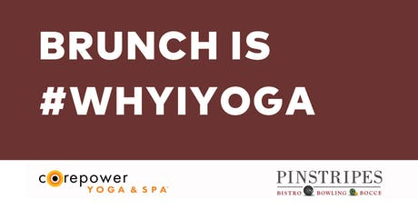 Yoga & Brunch at Pinstripes Edina tickets