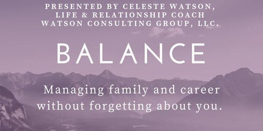 Finding Balance - Video Conference