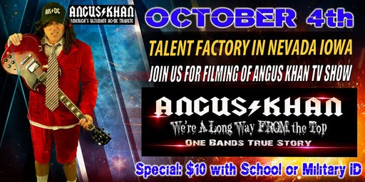 Angus Khan, an AC/DC Tribute That Will Rock Your SOCKS OFF!
