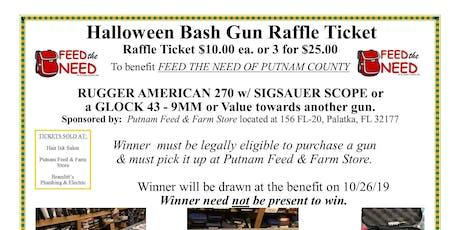 Halloween Bash Raffle Ticket Sales tickets