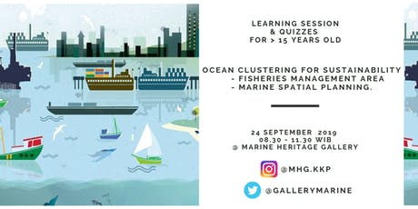 Learning Session : OCEAN CLUSTERING FOR SUSTAINABILITY tickets