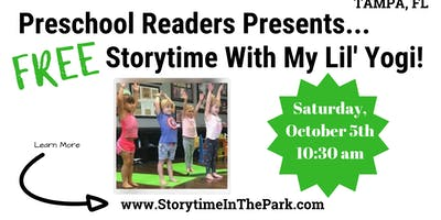 Free Storytime In The Park with Jen of My Lil' Yogi