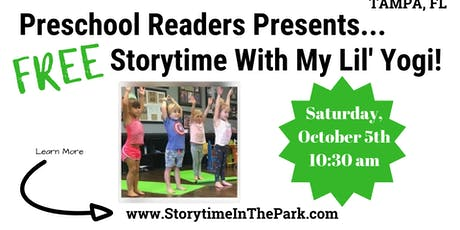 Free Storytime In The Park with Jen of My Lil' Yogi tickets
