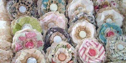 Up-cycled Fabric Embellishments