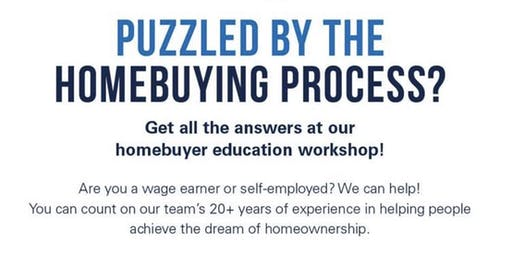 Homebuyer Workshop Event