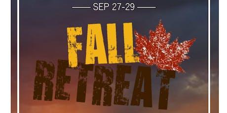 StMU Fall Retreat 2019 tickets