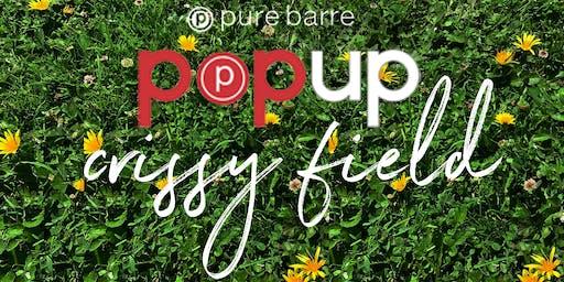 Pure Barre Pop-Up - Crissy Field SF