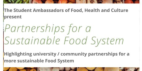 Partnerships for a Sustainable Food System tickets