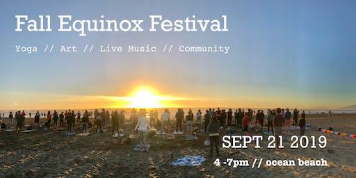 Fall Equinox Beach Festival :: Yoga // Art // Live Music // Community